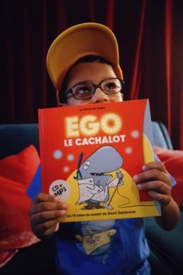 Livre Disque Ego le Cachalot