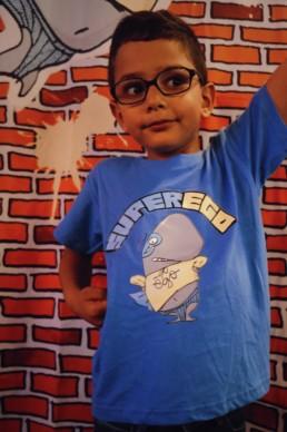 T-shirt Bleu Clair Super Ego